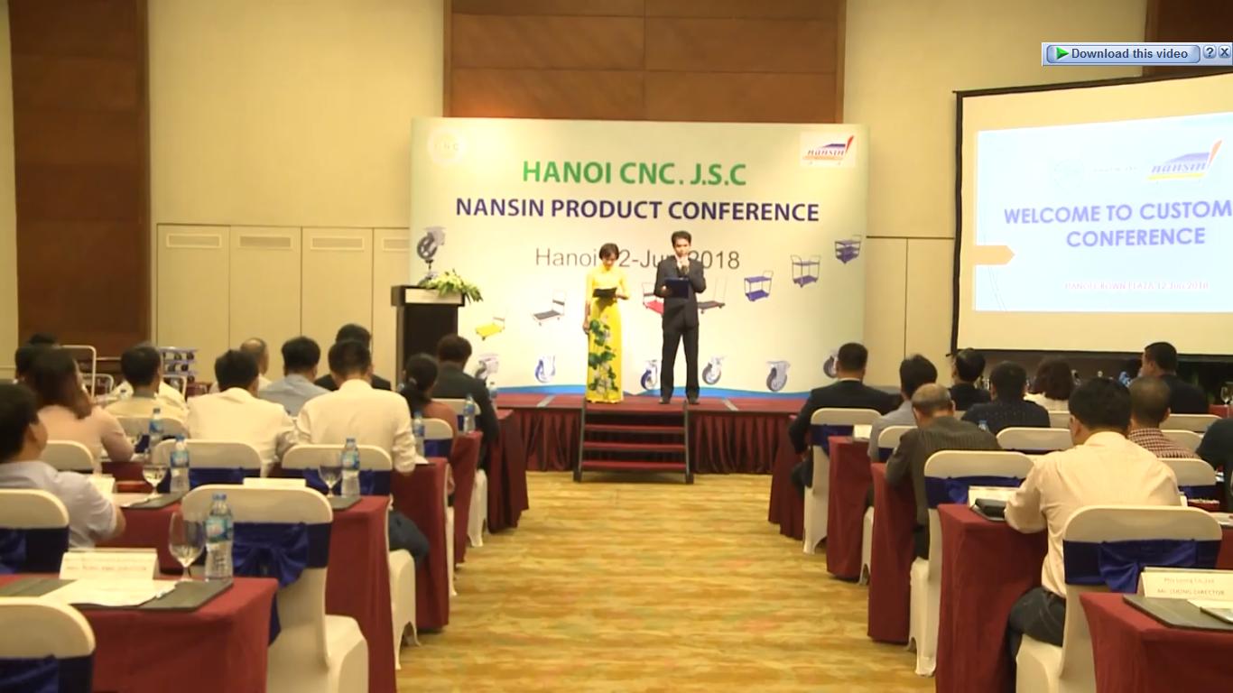 CNC Hà Nội Tổ chức hội thảo phát triển sản phẩm NANSIN   Nhật Bản