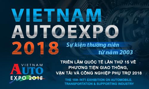 THAM GIA TRIỂN LÃM - VIETNAM AUTO EXPO 2018