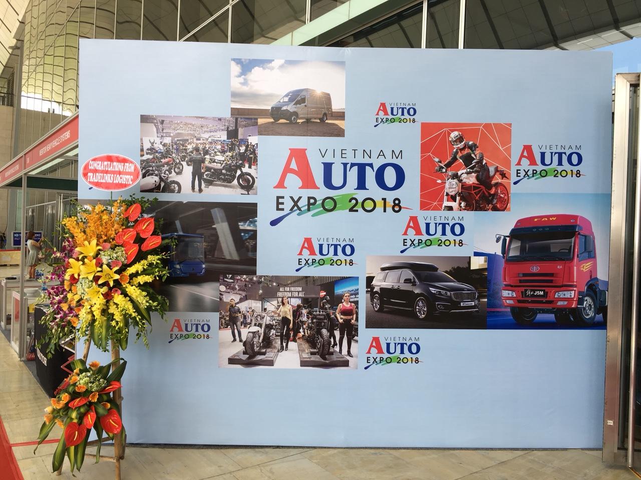CNC Hà Nội Tham dự triển lãm VIETNAMAUTOEXPO2018